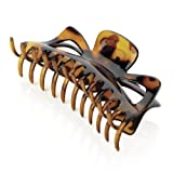 Amber Jewellery Large Hair Claw Clip Clamp Hair Accessory - 14cm Brown HA28179 by Amberjewellery