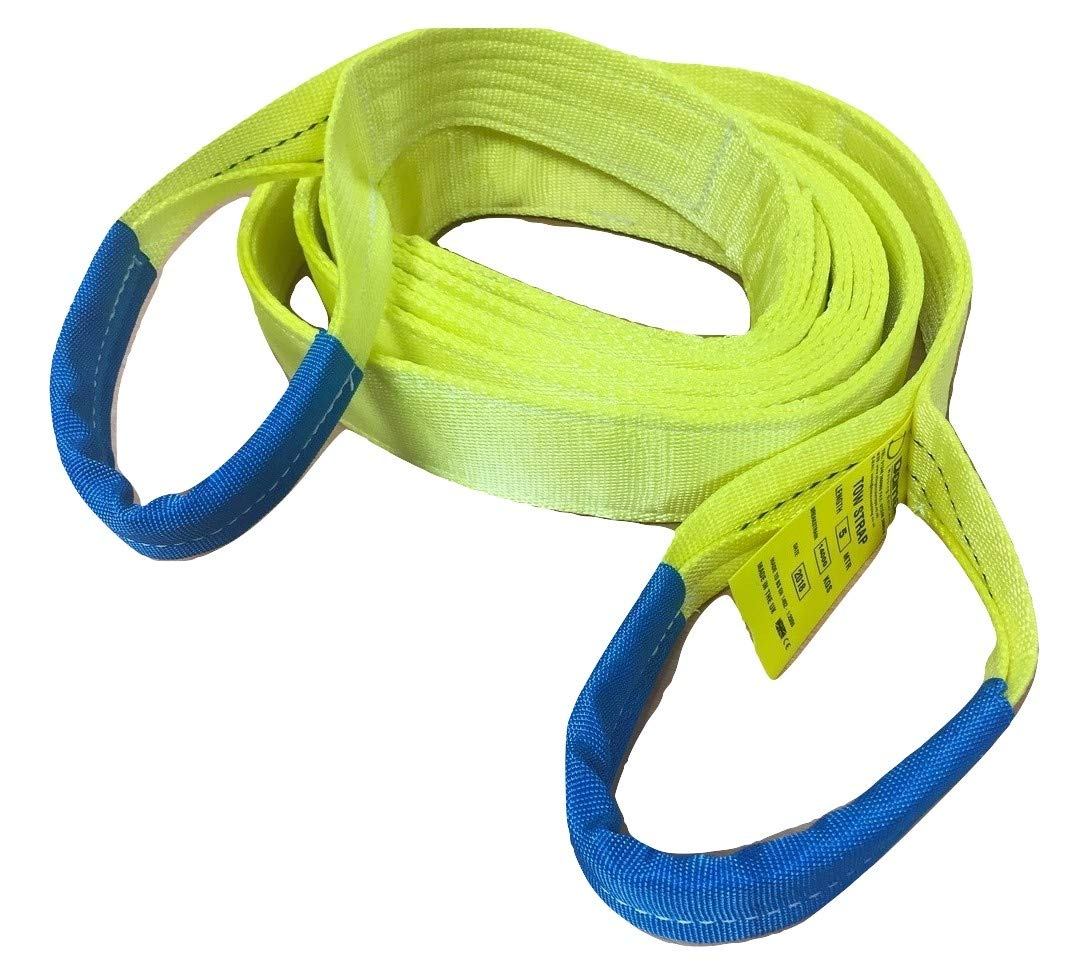 Damar Webbing Solutions Ltd Tow Rope Strap 14ton Heavy Duty 5mtr