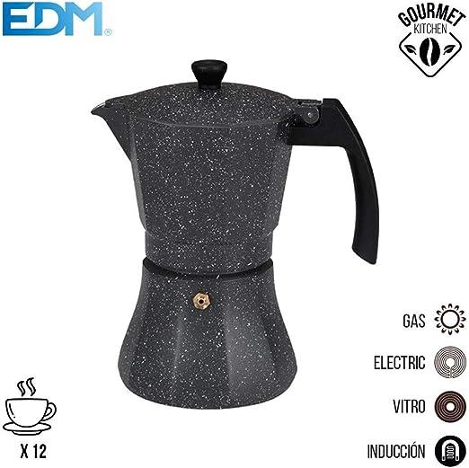 Cafetera 12 tazas aluminio para induccion edm: Amazon.es: Iluminación