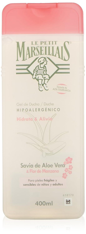 Le Petit Marsellais - Gel Sensitive Aloe Vera & Flor de Manzano, 400 ml: Amazon.es: Amazon Pantry