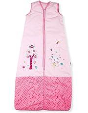 Sacos de Dormir para Bebé, Jardín Bonito del Gatito, Kiddy Kaboosh Varios Tamaños,