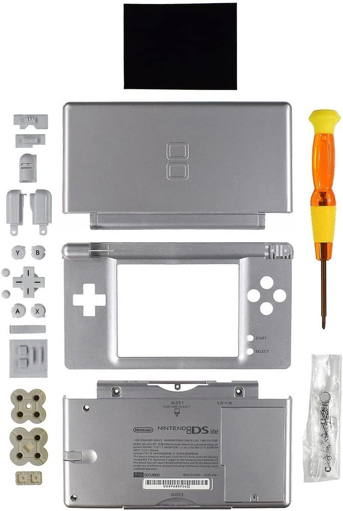 Amazon.com: Nintendo DS Lite Replacement Case/Shell/Housing ...