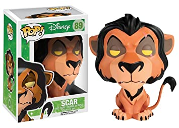 Funko Pop The Lion King Scar With Flames Collectors Box Exclusive New PRE ORDER