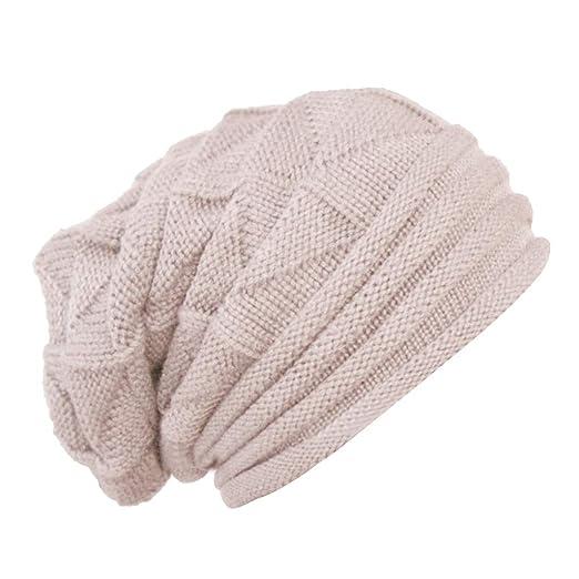 f0506ba5b2 SM SunniMix Men Women Ladies Knitted Winter Oversized Slouch Beanie Hat Cap  Skateboard