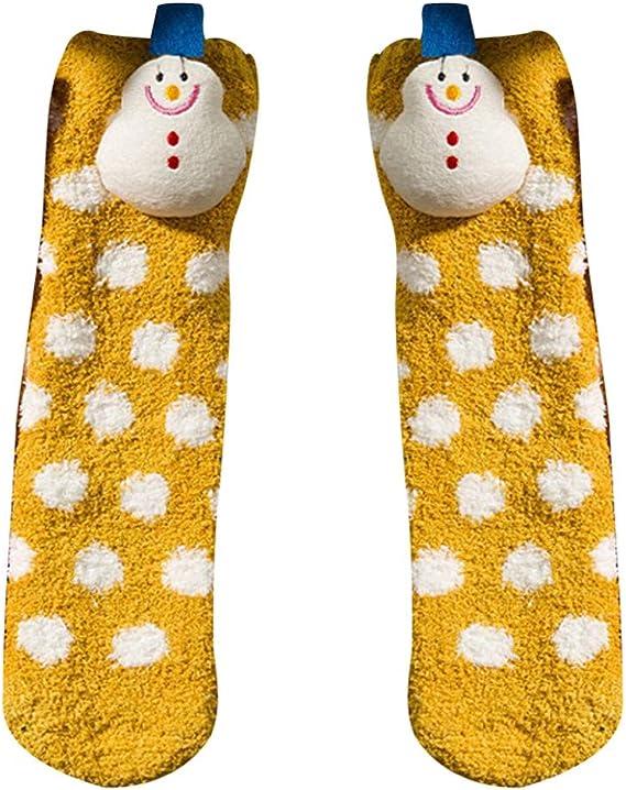 YWLINK Calcetines Calientes De Dibujos Animados Calcetines ...