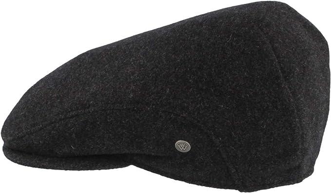 aus 100/% Wolle Herren Schieberm/ütze mit Ohrenklappen Hautfreundlich /& Bequem Schirmm/ütze Flatcap Wasserabweisend /& Knatschbar