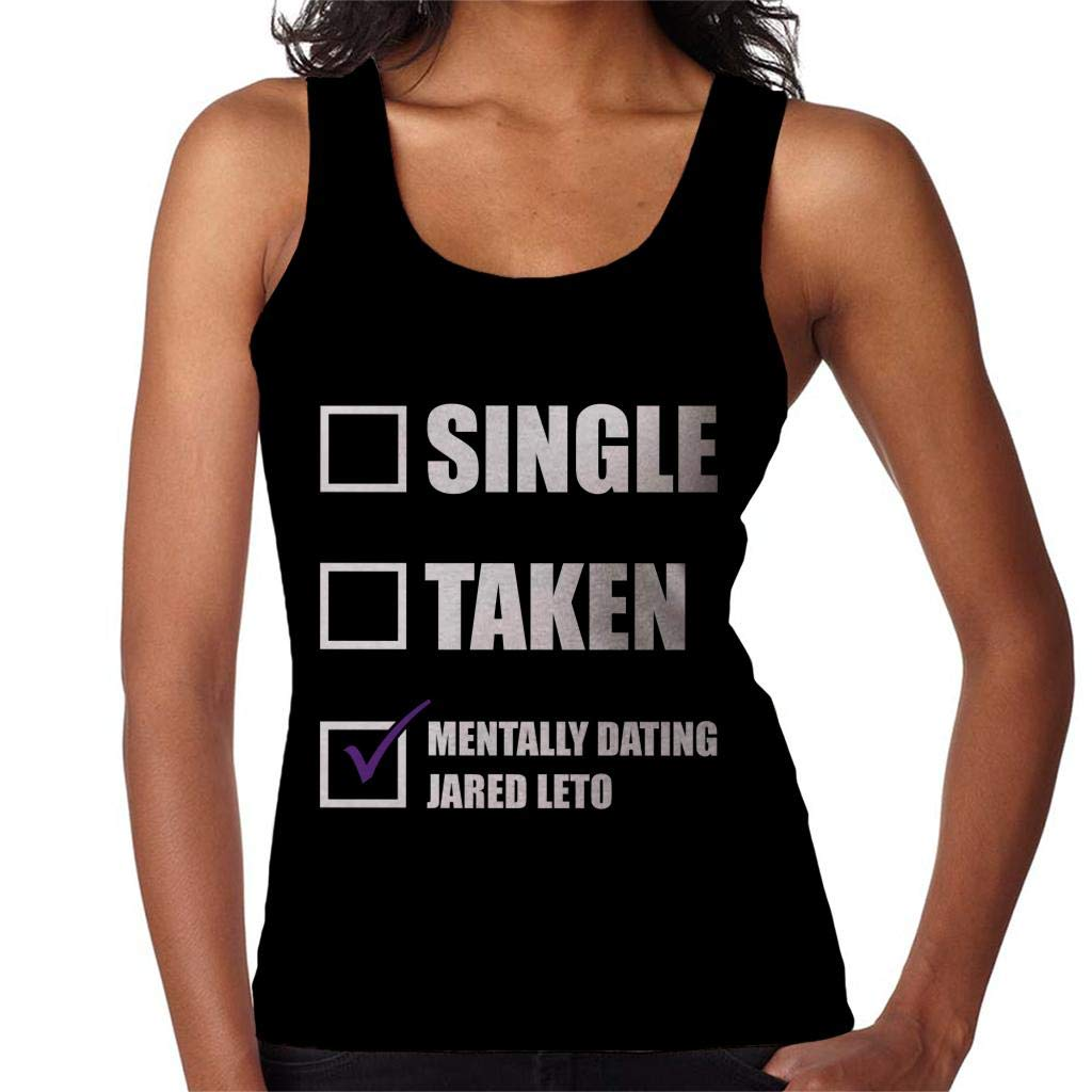 Coto7 Single Taken Mentally Dating Jared Leto Women's Vest