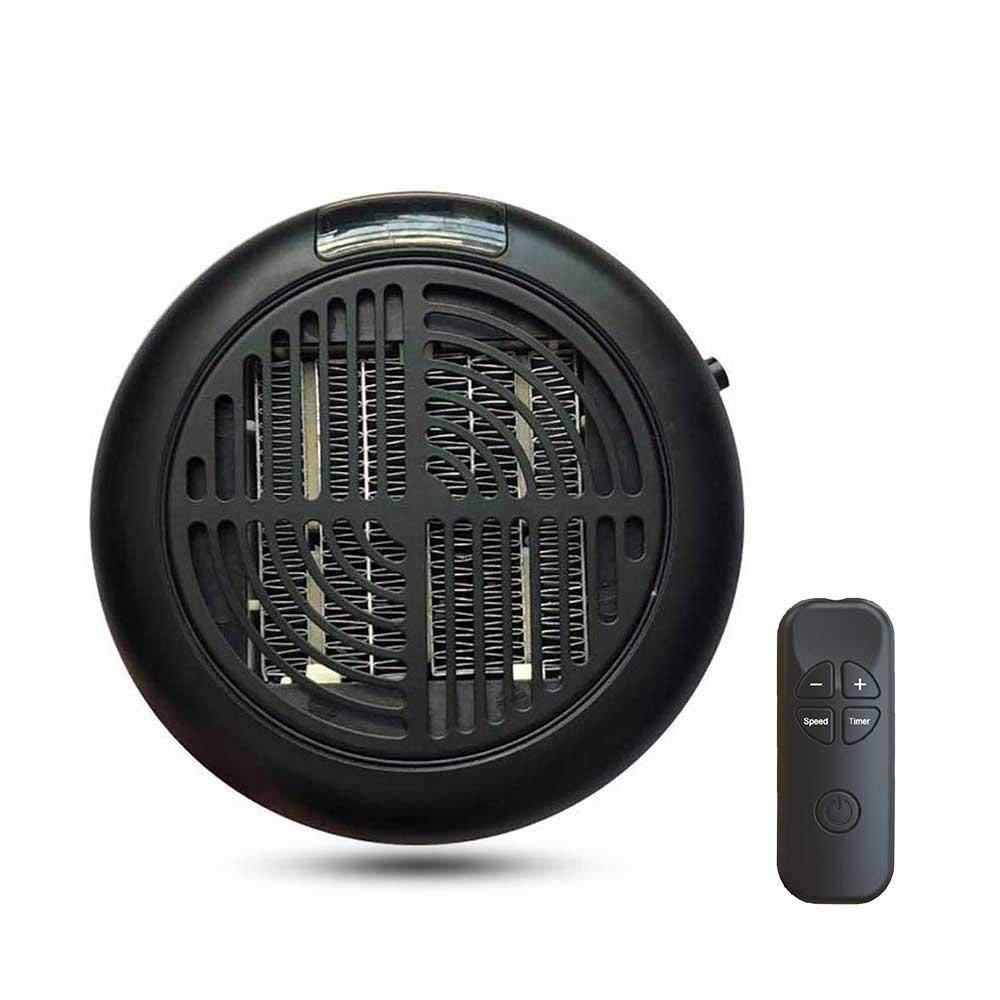 LAYOPO Fan Heater, Portable Mini Desktop Heater Smart Touch Control Electric Heater Warm Air Fan for Winter, Quick Heat-up, Ultra Quiet.