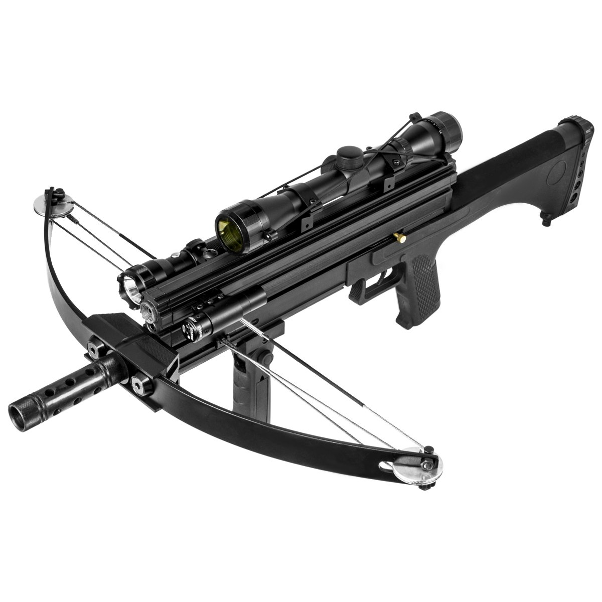 XtremepowerUS Multifunctional Crossbow 80 lbs 160 fps Hunting Equipment 200 Magazine Capacity by XtremepowerUS (Image #3)