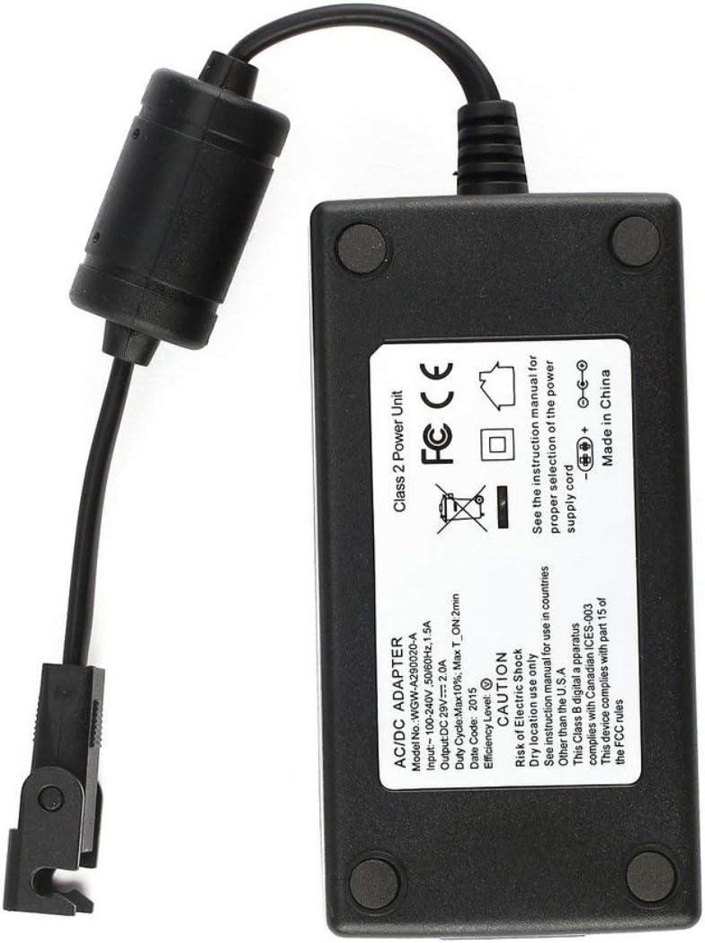 Colore: Nero Dailyinshop 29V 2A AC//DC 2 Pin Elettrico Poltrona reclinabile Adattatore trasformatore Alimentatore con tirando Fibbia per Limoss per OKIN