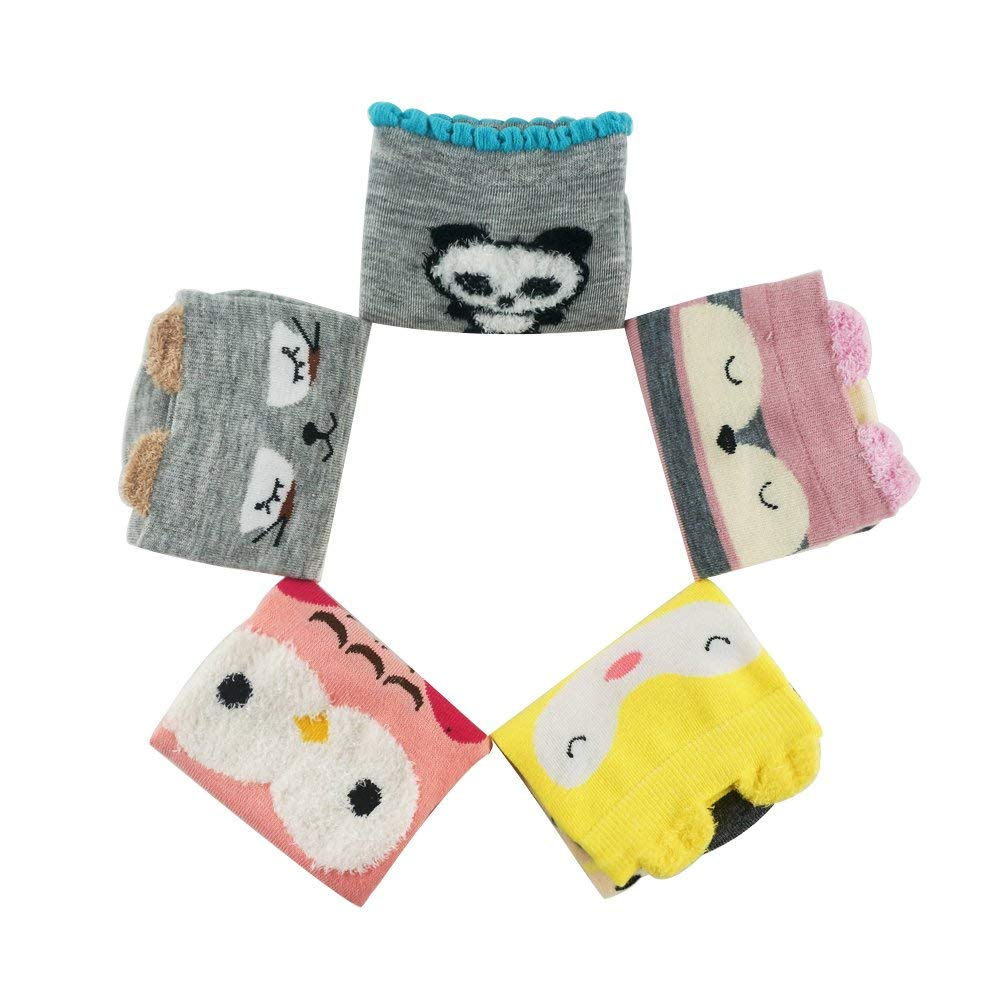 Winter socks, warm socks, AIMKE knitted socks, a variety of colors can be chosen (Female socks) (Colorful-GW21)