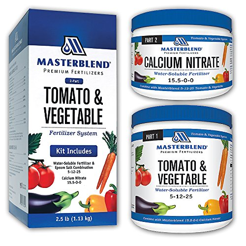 Masterblend Tomato & Vegetable Fertilizer COMBO Kit 2.5lbs