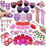 Toys : Party Favors for Kids 100 pc Bulk Princess Party Supplies - Birthday Party Supplies for Girls Goodie Bag Stuffers, Bulk Party Favors for Kids