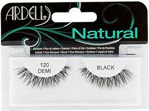 Ardell Fashion Lashes Natural Strip Lash, Black [120] 1 ea (Pack of 12)