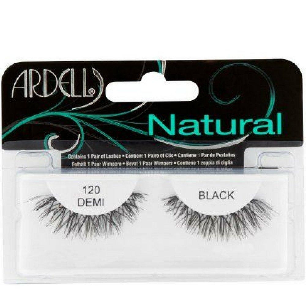 17c24ed0cbe Amazon.com : Ardell Fashion Lashes Natural Strip Lash, Demi Black [120] 1  ea (Pack of 10) : Beauty