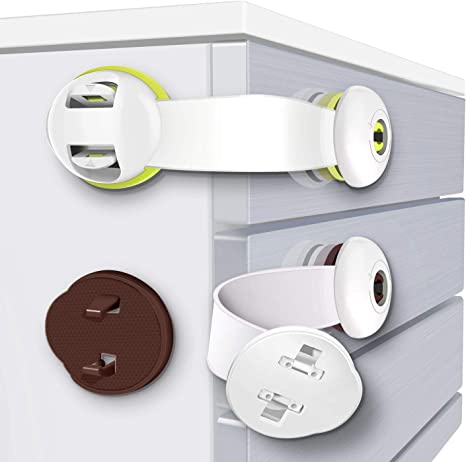 Kids Child Baby Pet Safety Lock Proof Door Cupboard Fridge Cabinet Drawer UK