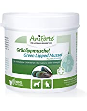 AniForte Grünlippmuschel-Pulver 100g für Hunde und Katzen, Natürliches Gelenk-Pulver in Vollfett Qualität, Unterstützt Gelenke & Gelenkfunktion, Reines Grünlippmuschel-Extrakt, Ohne Zusätze