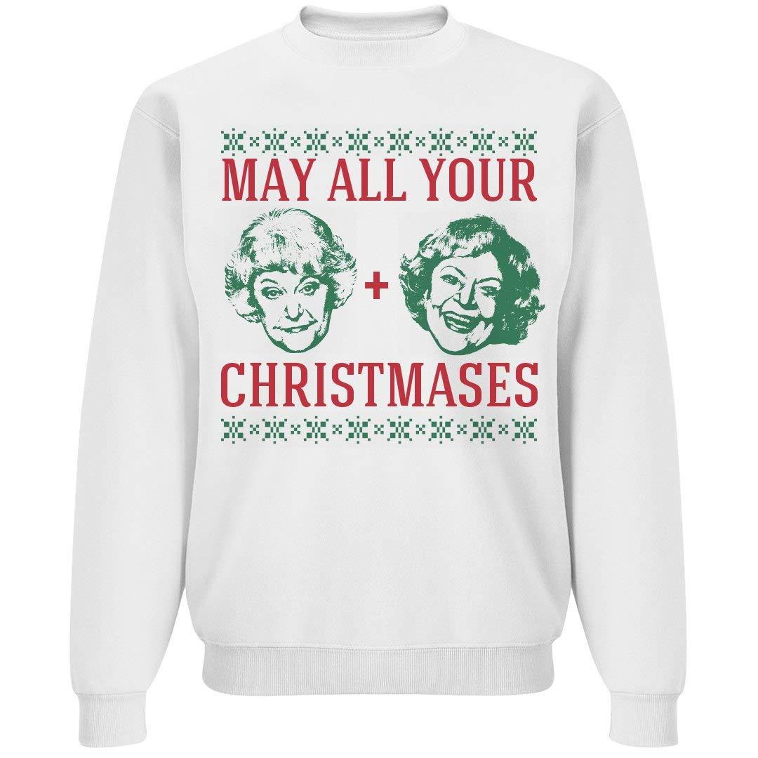 Christmases Bea White: Unisex Gildan Crewneck Sweatshirt 3113718-$P