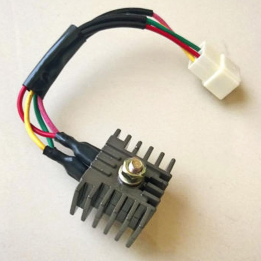 Amazon.com: OE :31700-102-731 6V Voltage Regulator Rectifier For Honda  SL100 SL125 CB125 S CB125S CL125 SB100 CB100 CL100 XL100 CT90 sub OE:  31700-107-782: ...