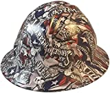 Texas America Safety Company Hydro Dipped Full Brim Style Hard Hat - Sweet Home Texas