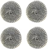 Tool Wizard BBQ Brush Replacement Scrubbers - 4 Pack