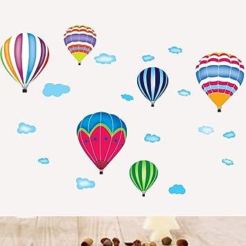 Heißen Ballons Vinyl Wandtattoos Wandaufkleber Für Kinderzimmer Babyzimmer  Wanddeko