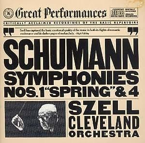 Schumann: Symphonies No. 1 & 4