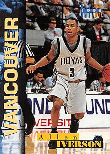 Allen Iverson Basketball Card Georgetown Hoyas 1996 Score