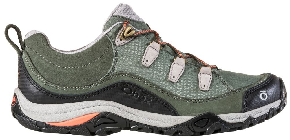 Oboz Juniper Low Hiking Shoe - Women's Thyme/Coral 10.5 by Oboz (Image #3)