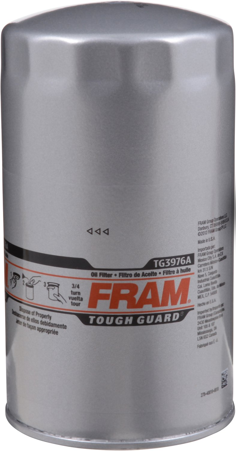 FRAM TG3976A Premium Spin-On Oil Filter TG3976A-1