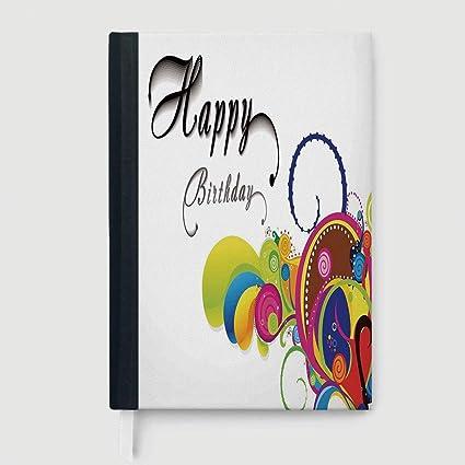 Amazon Birthday Decorations Case Bound Notebook Spiral