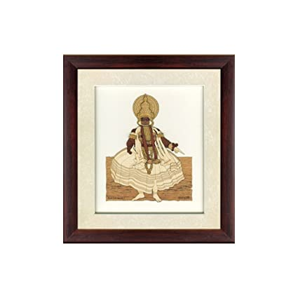 Buy Frames cottage Kathakali Wooden Photo Frames, Wall Frame, Home ...