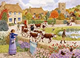 Autumn Village - Sarah Adams 1000 Piece Jigsaw Puzzle