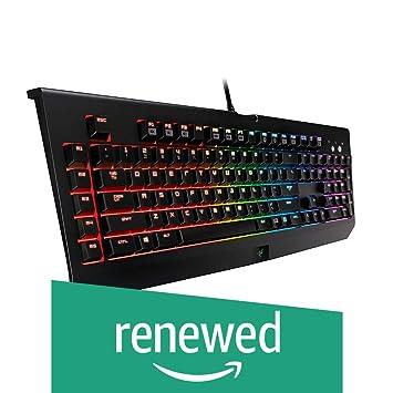 Amazon com: Razer BlackWidow Chroma, Clicky RGB Mechanical