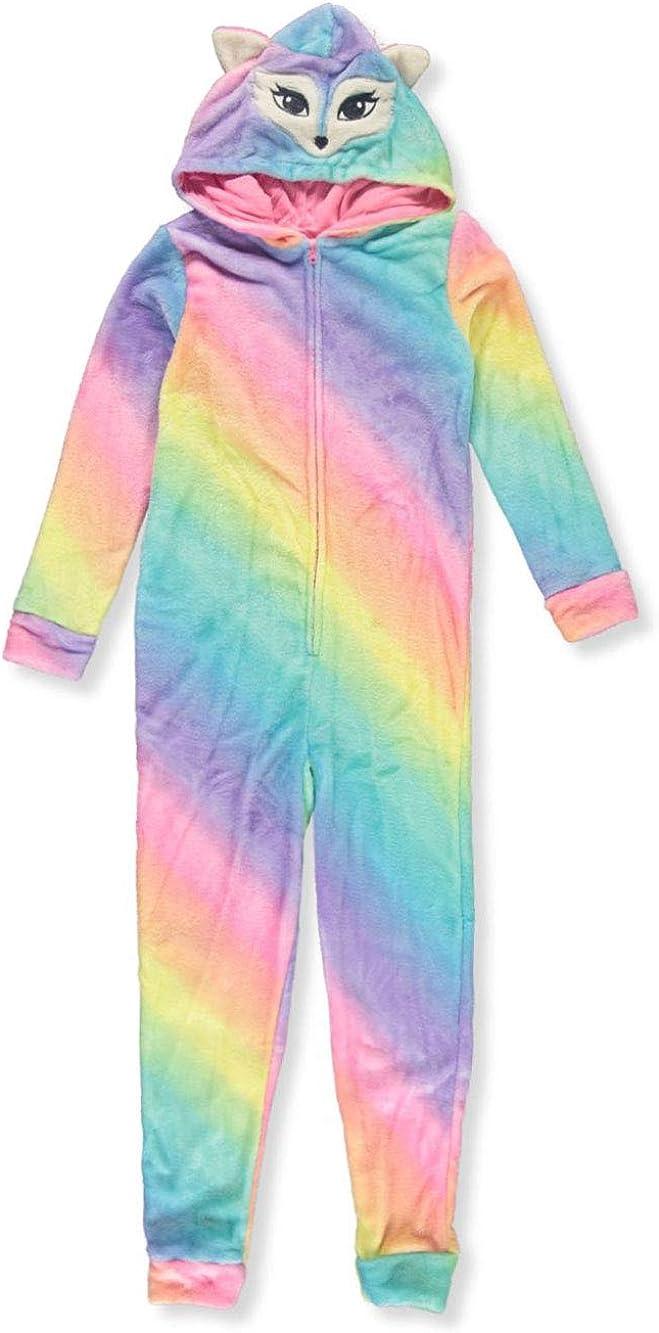 Delias Girl Girls Fox 1-Piece Pajama Suit
