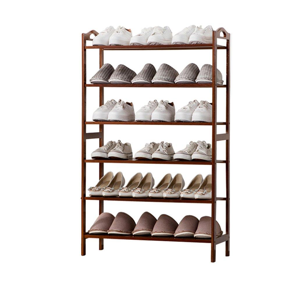 YANFEI 竹の靴のラックシンプルな家庭用多層靴のキャビネット竹の靴の棚 (サイズ さいず : 70 * 26 * 105CM) B07FBNFRTR70*26*105CM