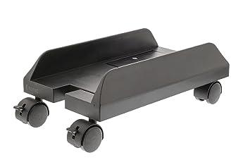 Support reglable chariot tour unite centrale boitier pc ordinateur