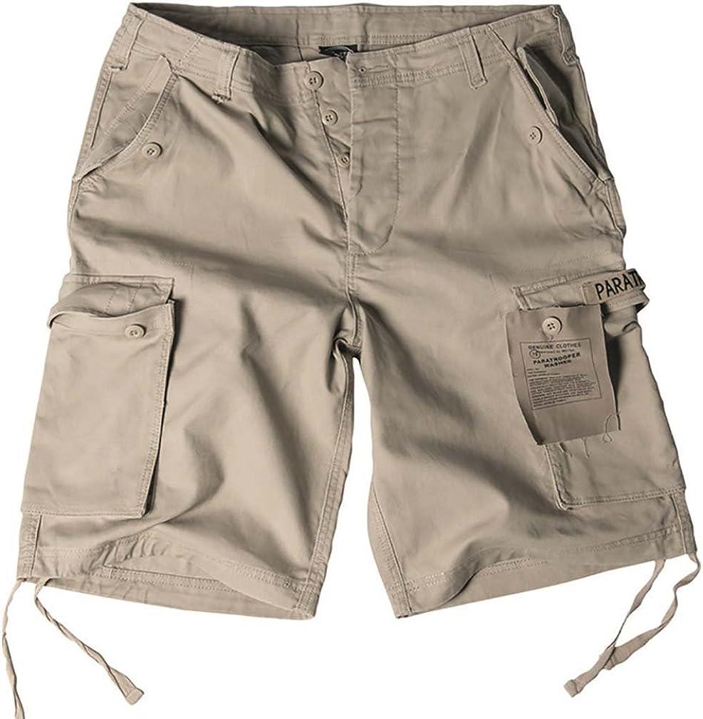 XL Mil-Tec Khaki Paratrooper Shorts