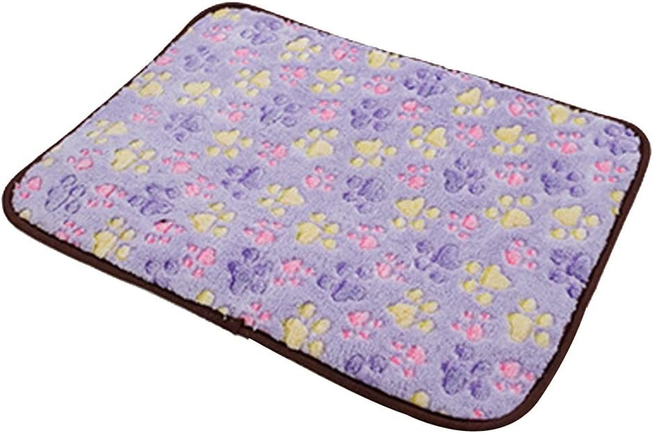 Pet Dog Mat,Pet Dog Reversible Blanket,Cat Puppy Chilly Ice Cooler Summer Sleeping Bed Pad,Kennels House Hole Cave Nest for Pets Doghouse for Small Medium Large Dogs Cushion Crate Mat Pillow Beds