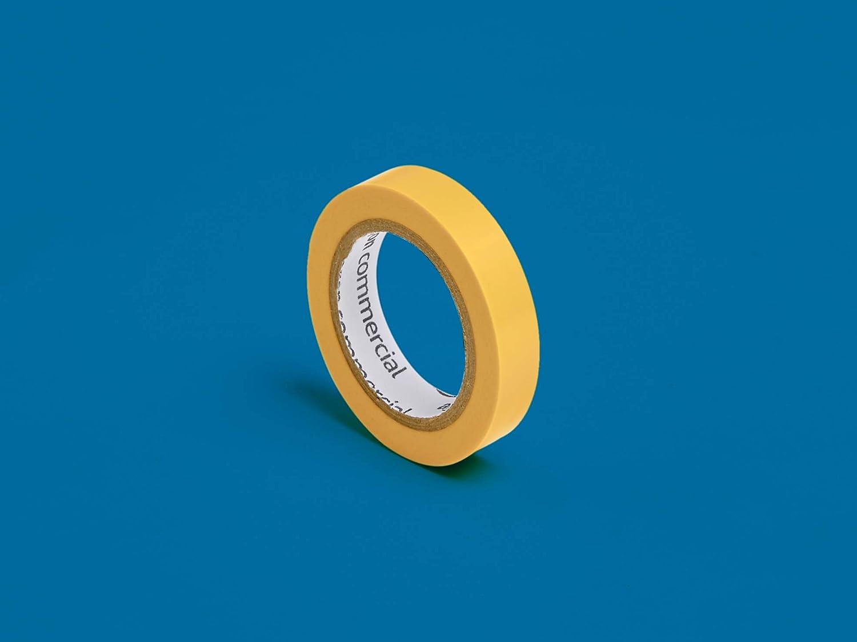 1.27 centim/ètre par 6.08 m/ètres Lot de 10 Commercial Ruban isolant Multicolore