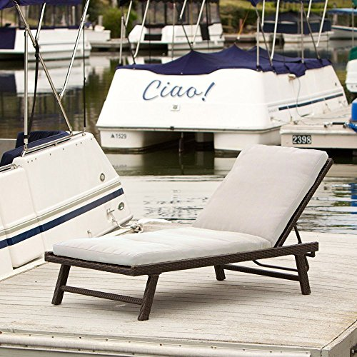 Best-selling Waveland Adjustable Chaise Lounge with Cushion