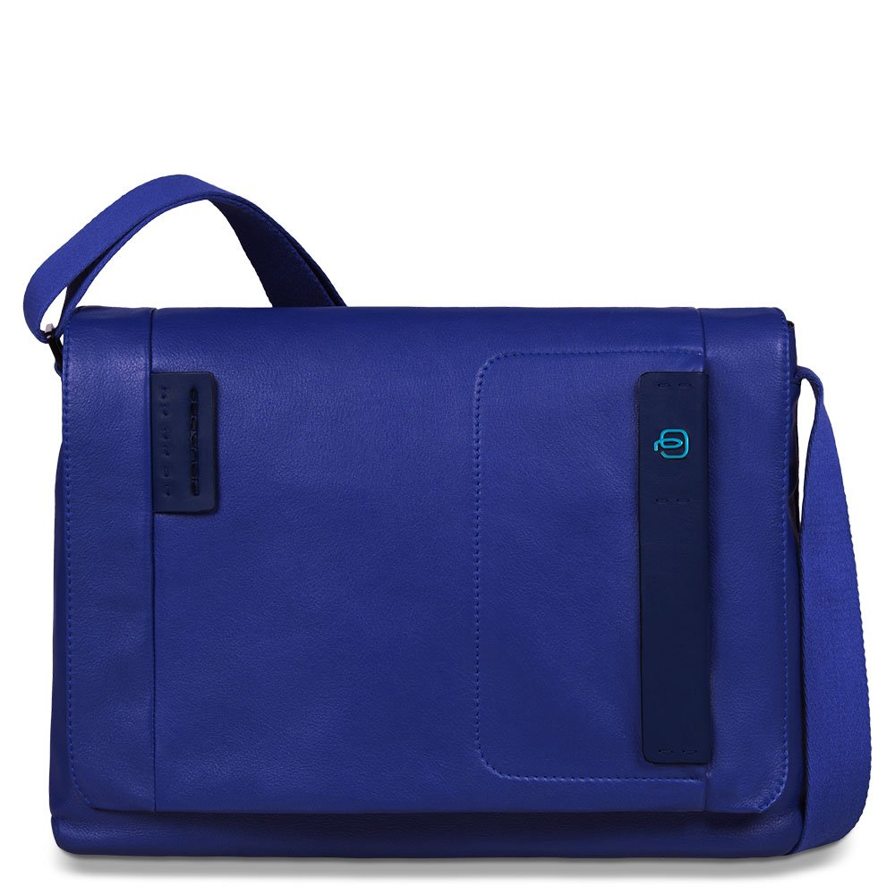 Piquadro flap over computer messenger bag Pulse ca3348p15-blu B00REEBQEY