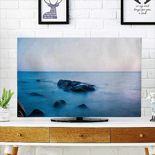 Analisahome Protege tu televisor con Material de plástico Gris ...