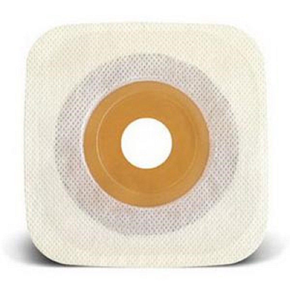 ConvaTec - Esteem synergy - Stomahesive - Two-Piece Skin Barrier 5/8'' Pre-Cut - Flat - 1'' Flange - 4'' x 4''