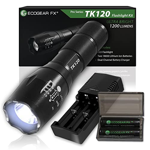 Complete LED Tactical Flashlight Kit - EcoGear FX TK120: A Complete LED Flashlight Kit