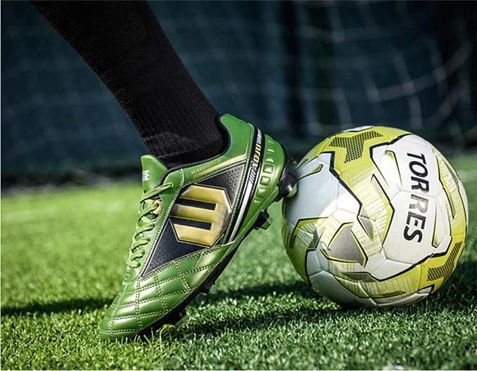Zapatos De Fútbol De Los Amantes/Botines De Fútbol De Cuero De Confort/Botas De Fútbol Fútbol: Amazon.es: Ropa y accesorios