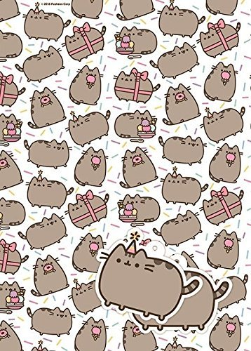 Pusheen Gift Wrap And Tag Set