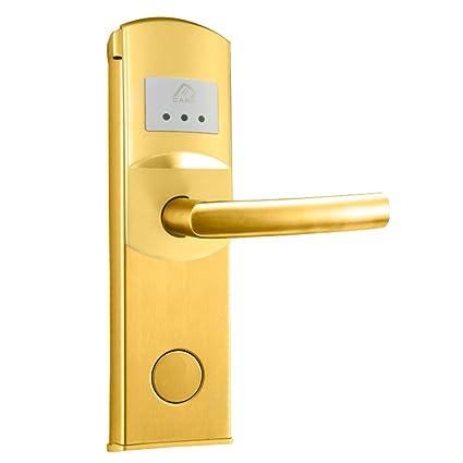 Sensores inteligentes SKT habitaciones de Hotel tarjeta del IC cerraduras electrónicas