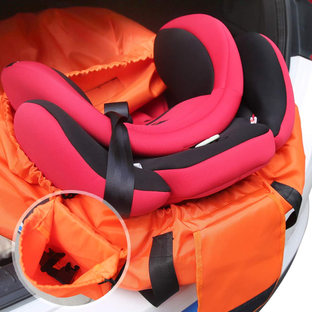 Baob/ë Car Seat Travel Bag for Airplane Carset Carrier Gate Check Bag for Airport 17 x 17 x 33 inch