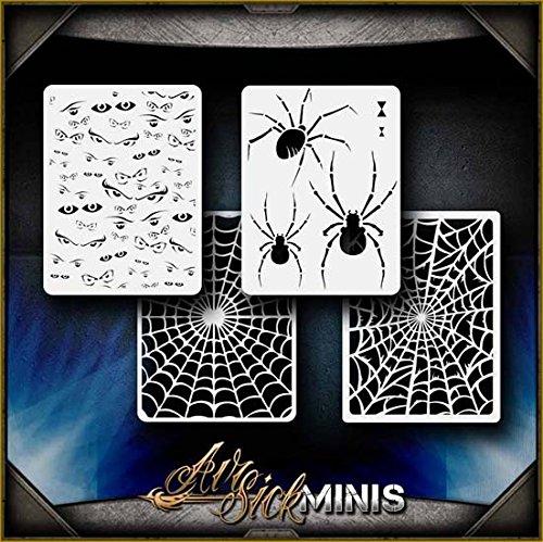 Mini Creepers Set AirSick Airbrush Stencil Template ()